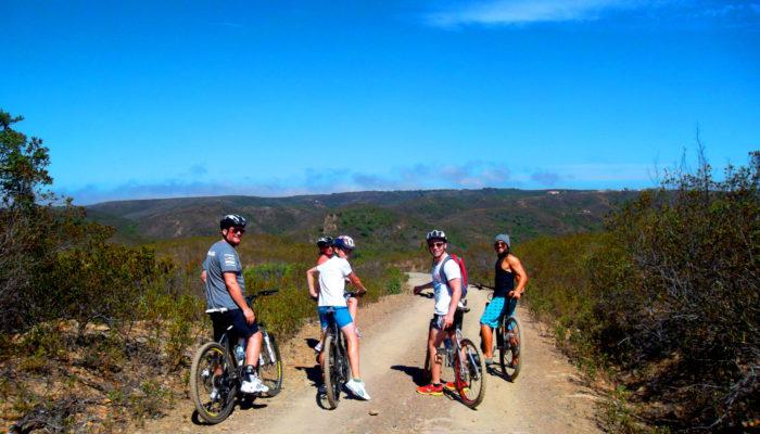 Algarve, Portugal hillside bike rides with friends